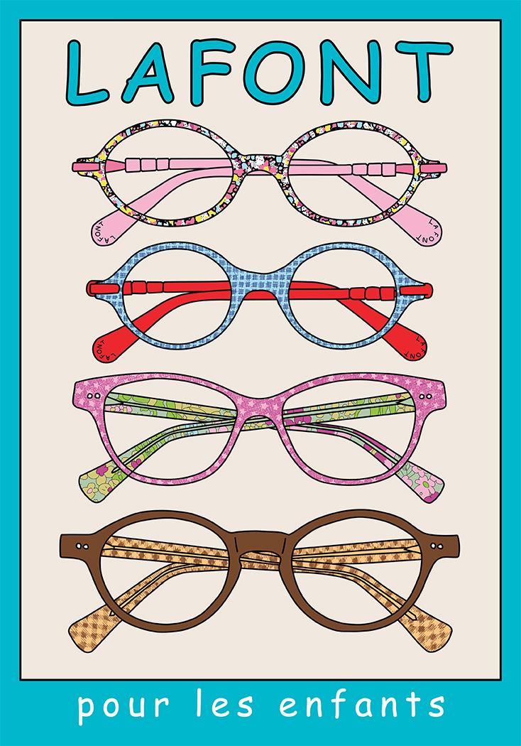 lunettes lafont pour enfants